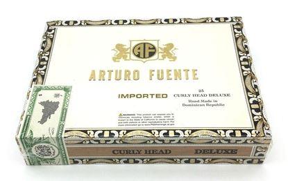 Picture of Arturo Fuente Curly Head Deluxe Maduro